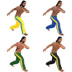 pack rigged capoeira model