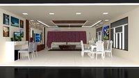 3D model interior design