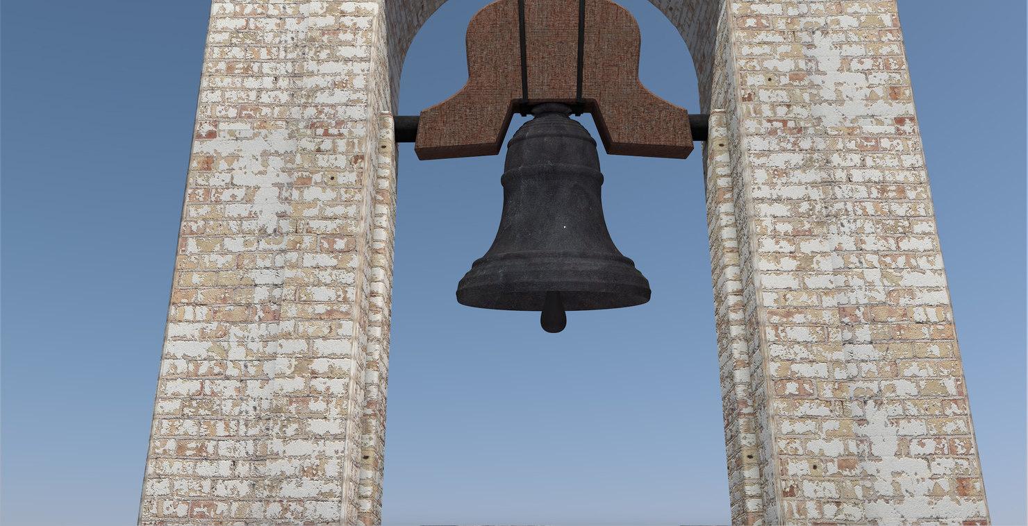 bell tower 3D model