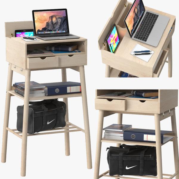 ikea knotten standing desks 3D model