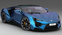 w motors fenyr supersport 3D model