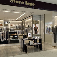 men s clothing store 3D model