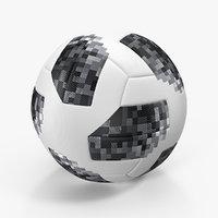 3D soccer ball cup 2018