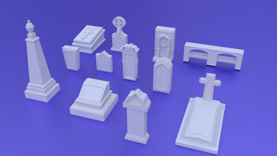 fantasy 12pcs pack 3D
