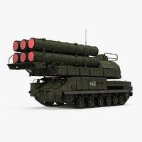 sam buk m3 9k317m 3D model