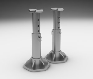 3D jack stand