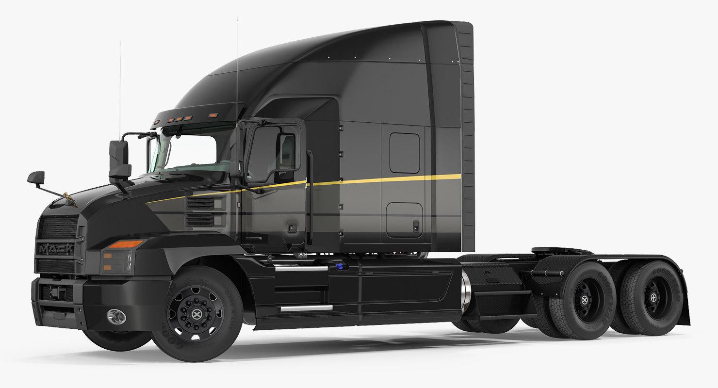 3D mack anthem truck 2018