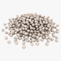 granular fertilizer 3D model