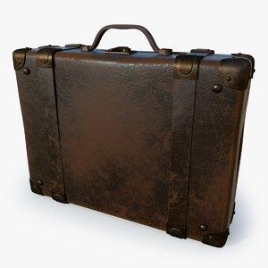 suitcase set 3D model