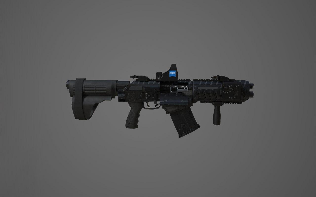 3D model shotgun fostech origin-12 origin