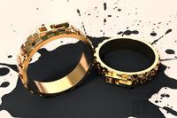 3D ring lock