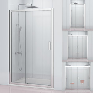 3D shower doors ravak 10