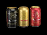 CLUB COLOMBIA BEER CAN