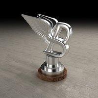 3D logo bentley model