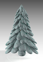 tree conifer nature model