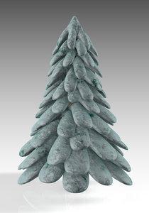 tree conifer nature model