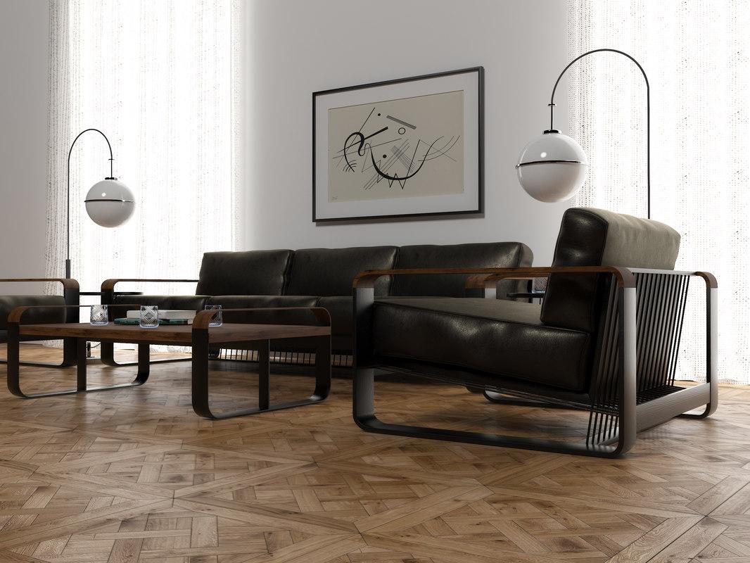 furniture set 3D