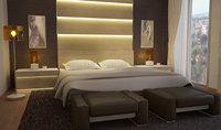 bedroom scene model