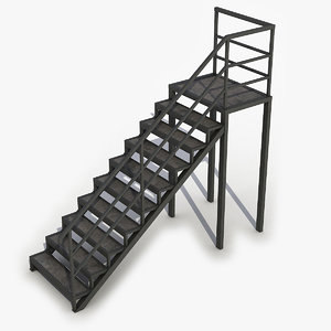 stairs output 3D model