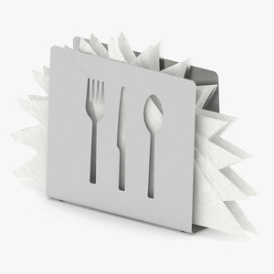 3D napkin holder