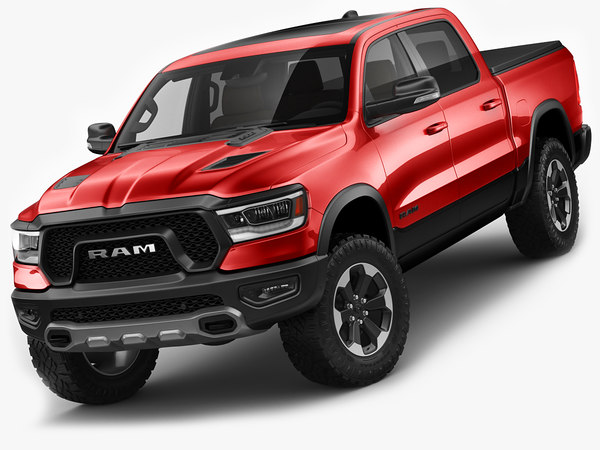 3D model ram 1500 rebel