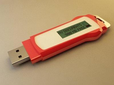 3D usb drive