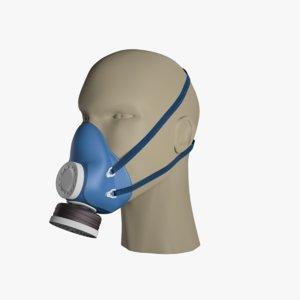 self-priming gas face safely 3D