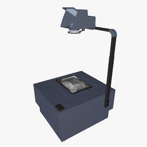 3D overhead projector l021 model