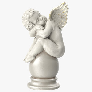 cupid vase 3D model