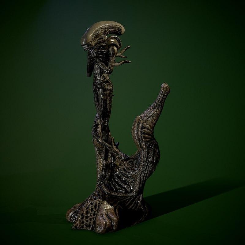 3D alien internecivus raptus