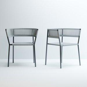 kilt-armchair 3D model