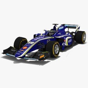 3D carlin formula 2 season