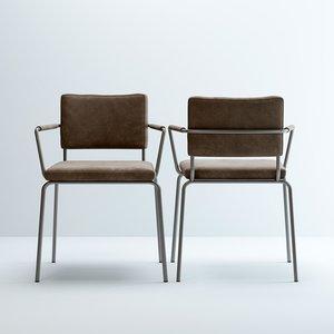 3D caffe-armchair model