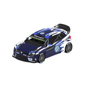 3D volkswagen polo r wrc