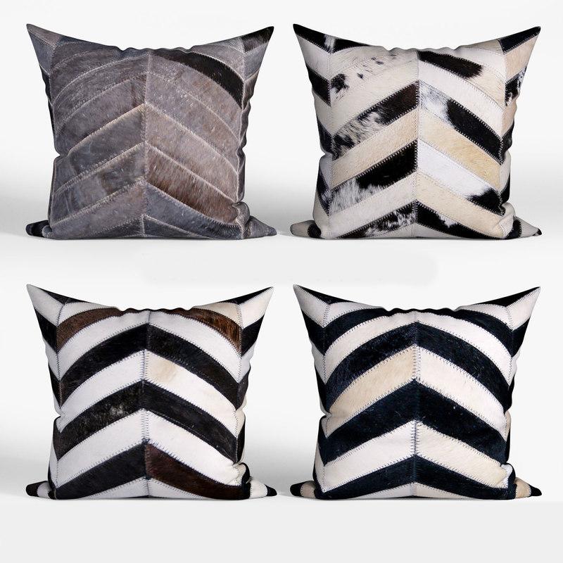 decorative pillows houzz torino 3D model