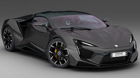 3D w motors fenyr supersport model