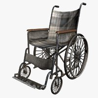 grunge wheelchair model