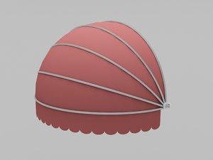 3D spherical markiza