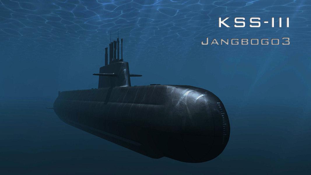 kss-iii jangbogo 3D model