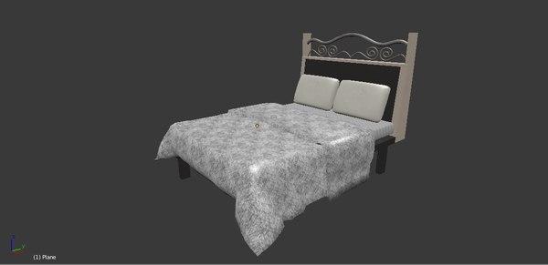 3D bed duvet