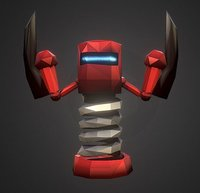 3D sword robot