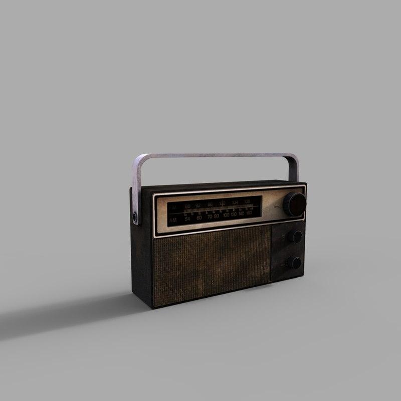 radio model