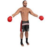 3D kickboxer 2