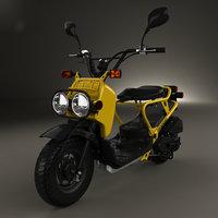 3D honda zoomer nps50 model