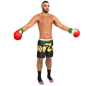 kickboxer games 3D model