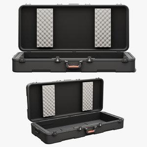 3D case keyboard model