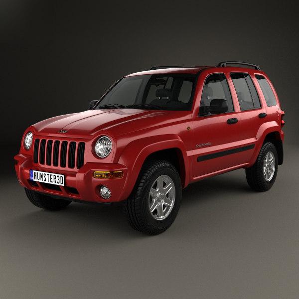 3D jeep cherokee kj