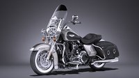 3D harley-davidson road king