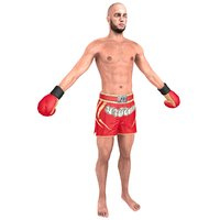 3D muay thai fighter 2