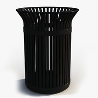 contains garbage 3D model
